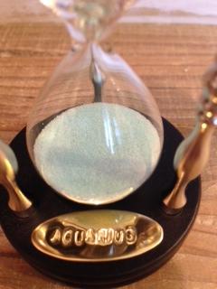 画像: Goworks 星座砂時計・みずがめ座